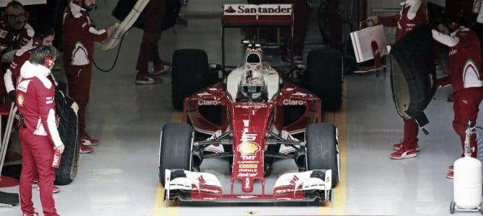 Ferrari cerró la pretemporada en lo más alto