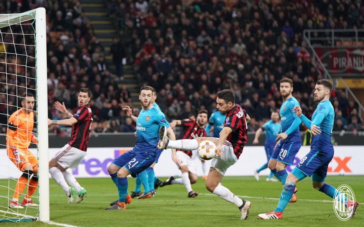 Milan-Arsenal, Leonardo Bonucci: