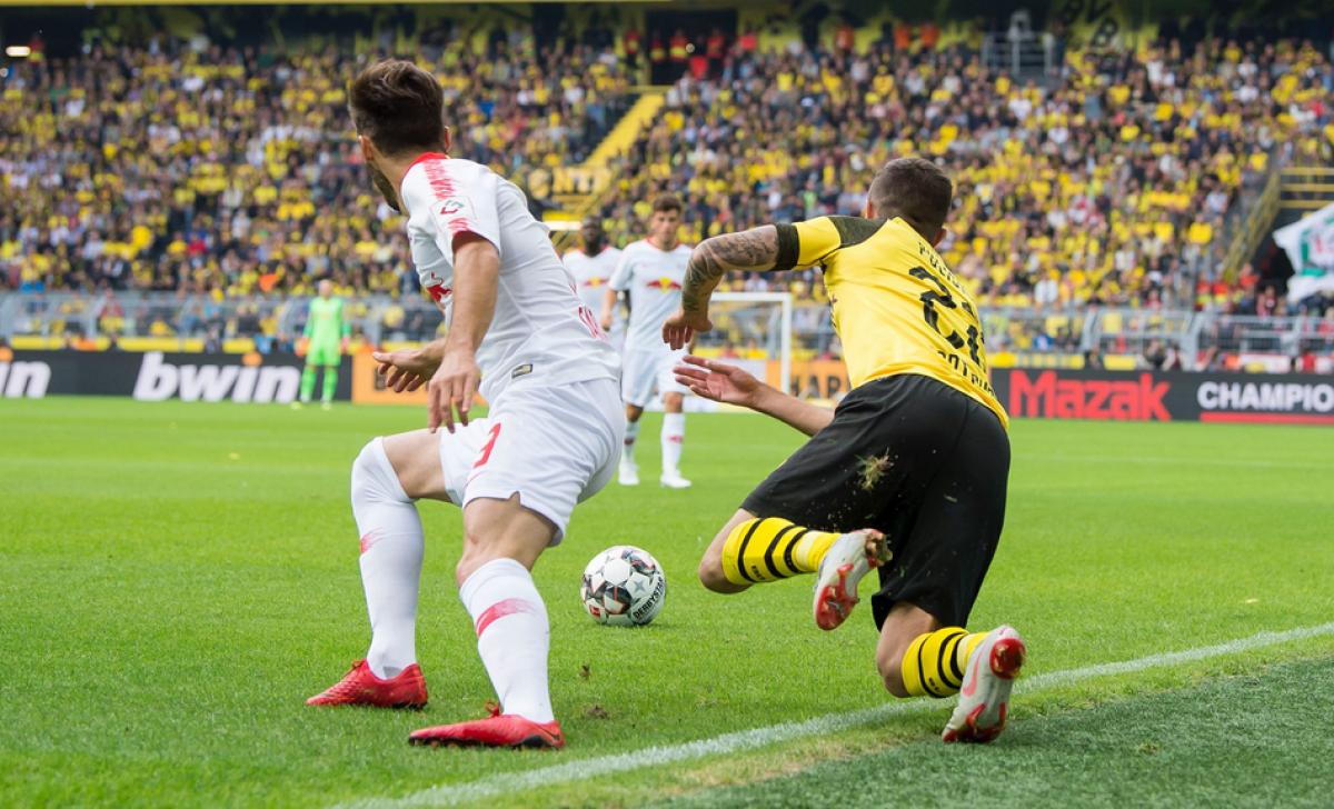 Bundesliga - Il Lipsia spaventa il Dortmund, ma la paura non dura molto: il Borussia vince 4-1