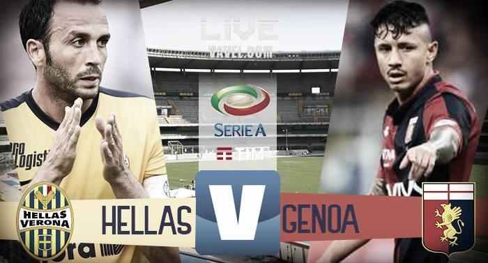 Terminata Hellas Verona - Genoa, LIVE Serie A 2017/18 (0-1): Gol di Pandev, 3 punti d'oro per il Grifone