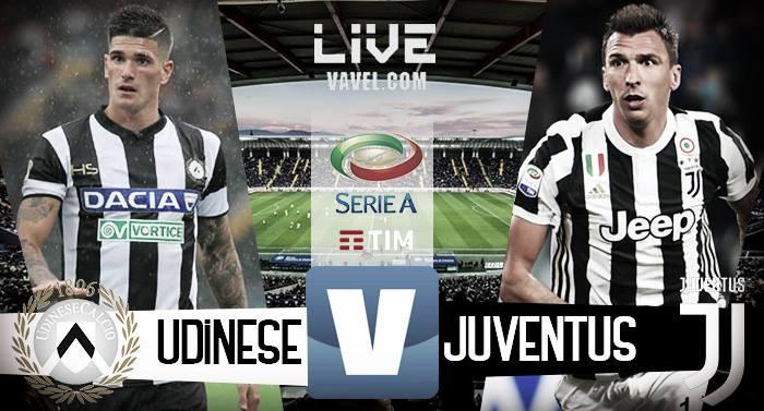 Terminata Udinese - Juventus, LIVE Serie A 2017/18 (2-6): La Signora di goleada in 10, triplo Khedira
