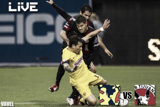 Resultado América - Xolos Tijuana en Liga MX 2013 (3-3)