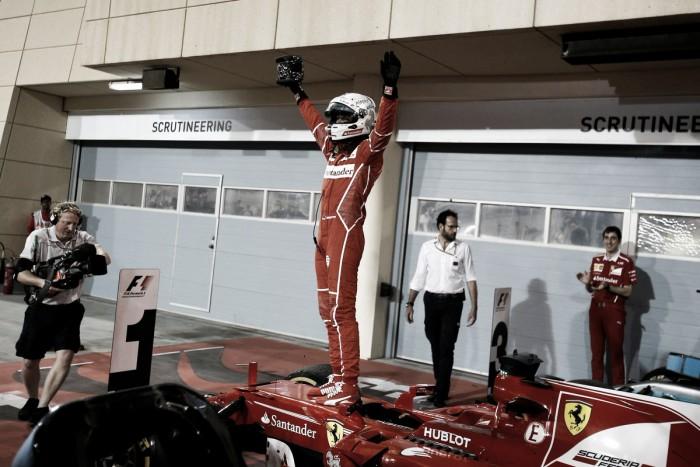 Vettel sigue de racha