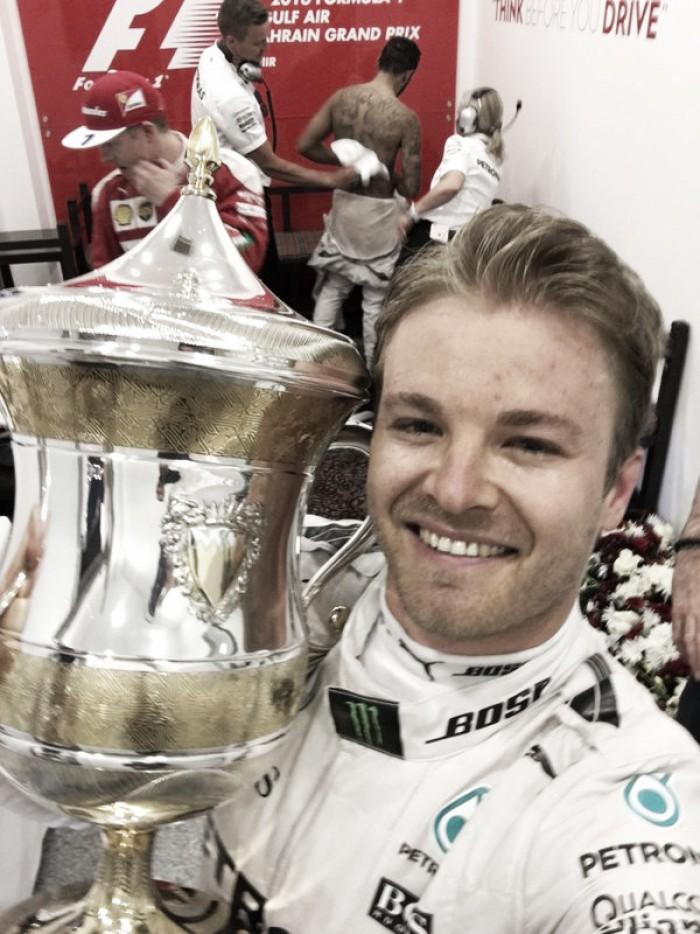 Rosberg invicto en 2016