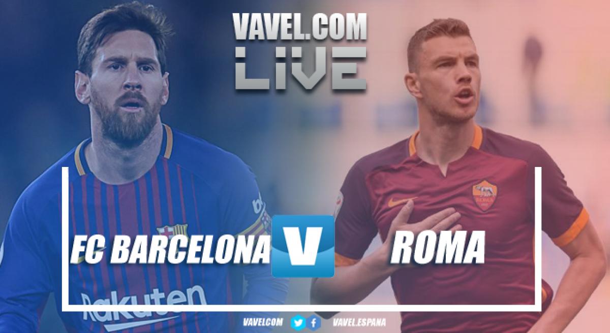 Terminata Barcellona - Roma, LIVE Champions League 2017/18 (4-1): Lupa sfortunata, le semifinali sono un miraggio