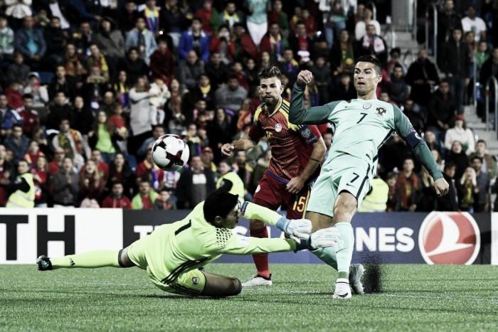 Qualificazioni Mondiali 2018 - No Ronaldo, sì problem: il Portogallo passa in Andorra, ma solo con Cristiano (0-2)