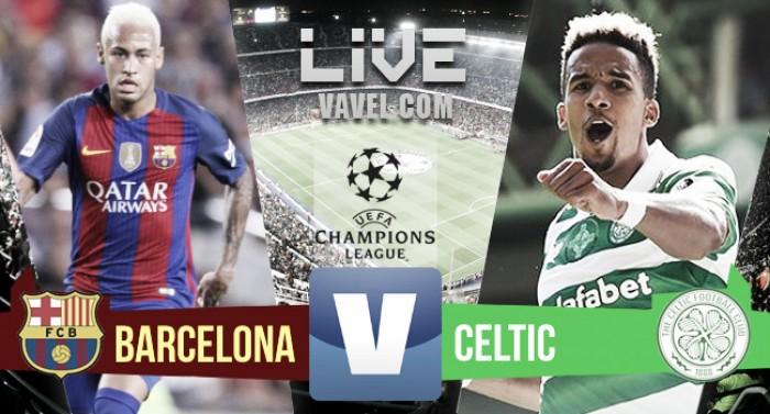 Partita Barcellona - Celtic in Champions League 2016/17 live: Suarez chiude il match sul 7-0