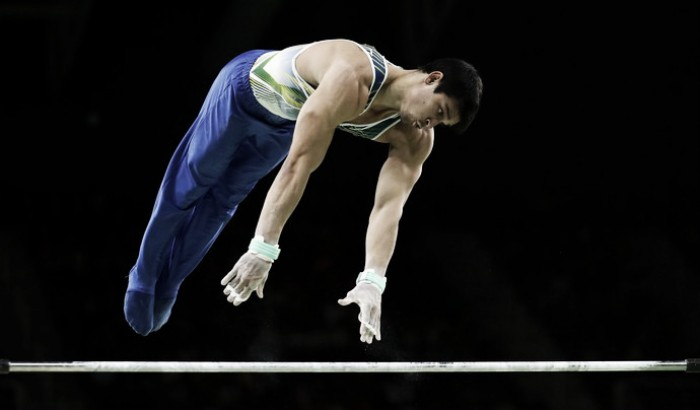 Chico Barreto fica em quinto e Brasil encerra sua participação na ginástica artística com quatro medalhas