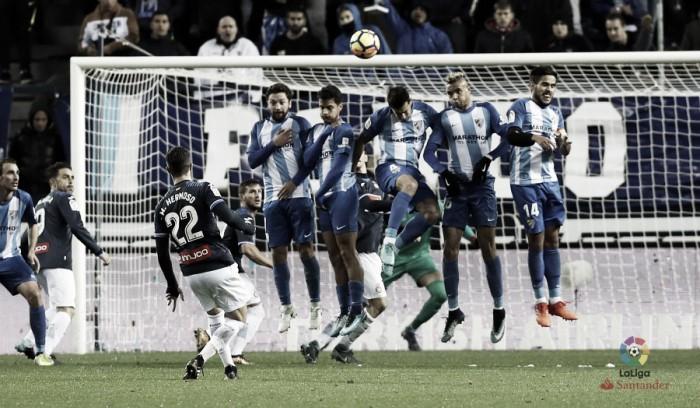 Málaga CF - RCD Espanyol: puntuaciones del Málaga, jornada 18 de La iga