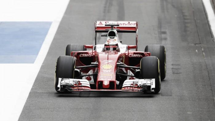 Raikkonen lideró en los segundos tests