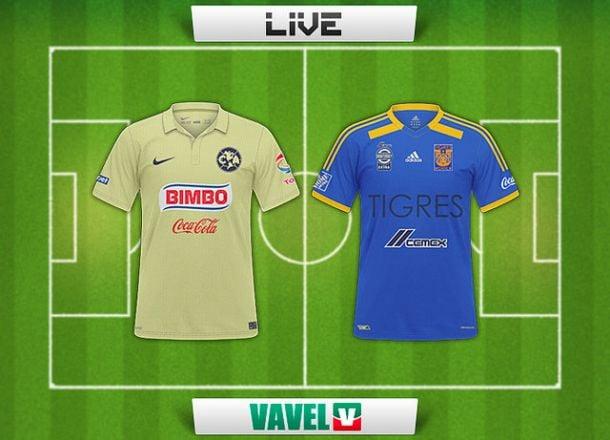 Resultado América - Tigres en Liga MX 2015 (1-0)