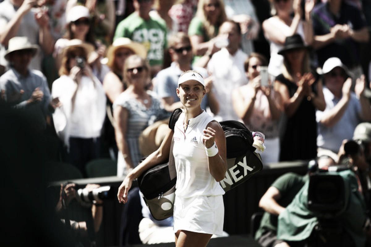 El camino de Angelique Kerber en Wimbledon: buscará la primera corona