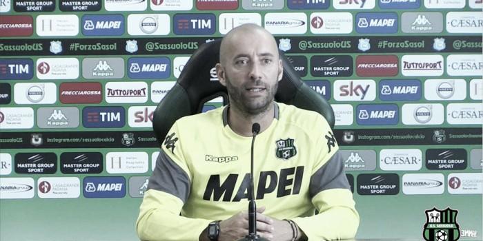 """Sassuolo, Bucchi in conferenza stampa: """"Sì 4-3-3, no turnover: mi aspetto una SPAL aggressiva"""""""
