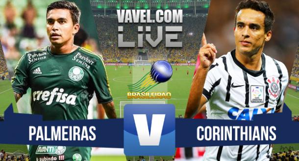 Jogo Palmeiras x Corinthians no Brasileirão Série A 2015 (3-3)