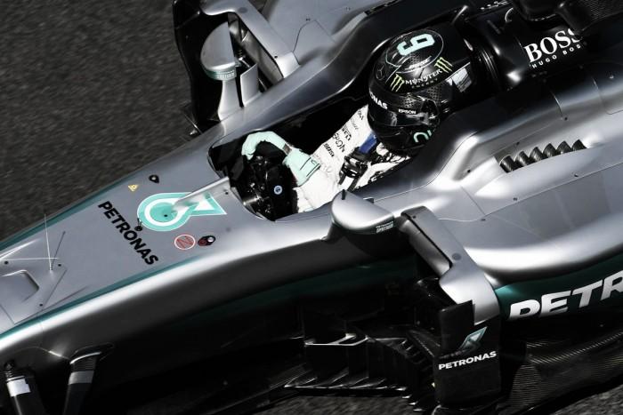 Rosberg poleman en Bakú