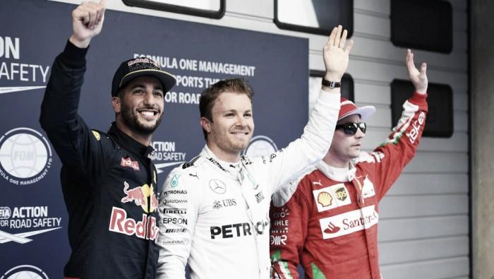 Rosberg largará adelante