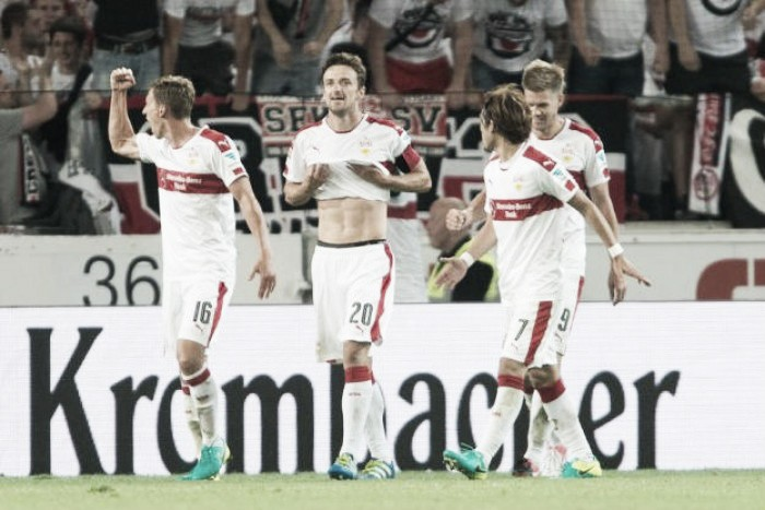 VfB Stuttgart 2-1 FC St. Pauli: Late Gentner strike ensures Stuttgart begin life in second tier with a win