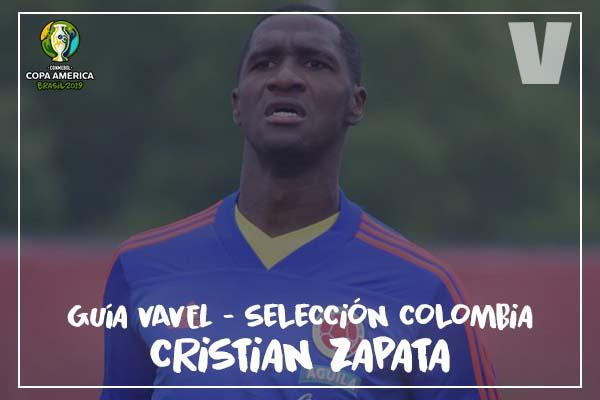Guía VAVEL, cafeteros en la Copa América 2019: Cristian Zapata