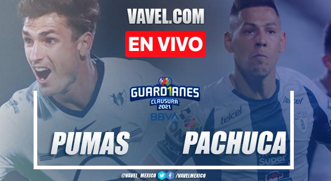 Goles y resumen: Pumas 2-2 Pachuca en Jornada 13 de Liga MX Guard1anes 2021