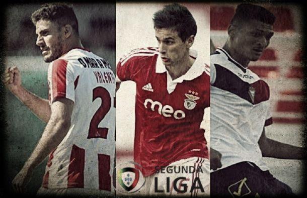 Bjorn, Fonte e Valente: os goleadores da II Liga