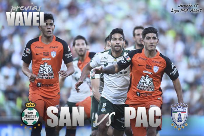 Previa Santos – Pachuca: Pende su vida en la liga de este juego