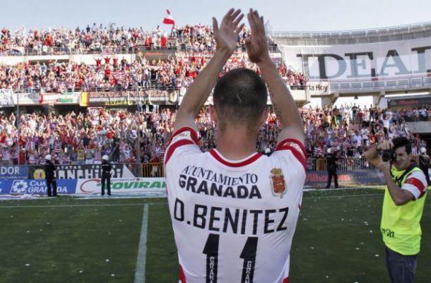 Dani Benítez, el 'Ave Fénix' del Granada CF