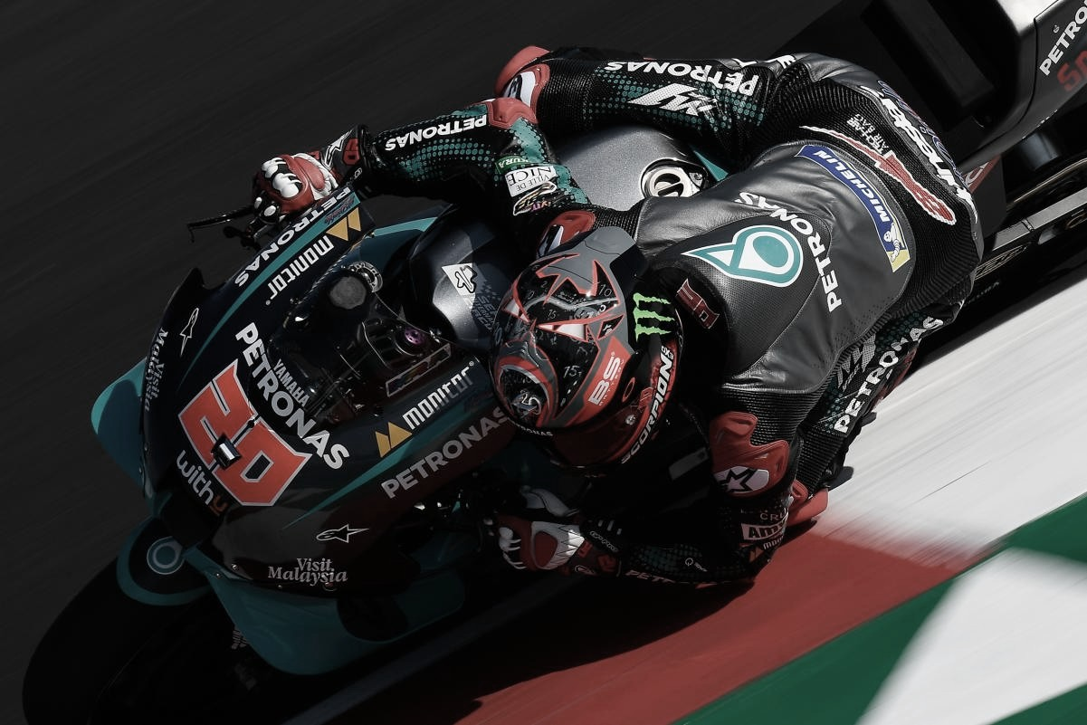 """Fabio Quartararo: """"Tenía la sensación de que Misano se nos iba a dar mejor"""""""