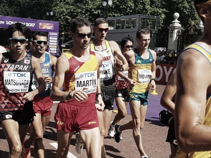 Gran actuación en el Mundial de los españoles: 20 km Marcha