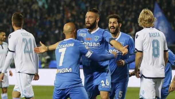 Un altro tracollo della Lazio, l'Empoli fa sua la partita. E Pioli è appeso ad un filo