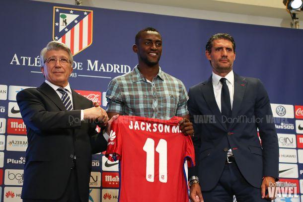"""Jackson: """"Ha arrancado mi ciclo en en el Atlético de Madrid"""""""