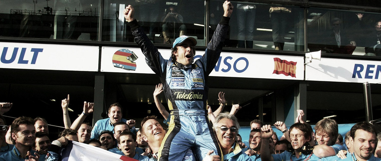 La Fórmula 1 elige las mejores carreras de Fernando Alonso