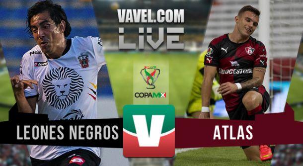 Resultado Leones Negros UDG - Atlas en Copa MX (0-0)