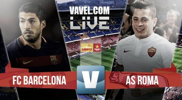 Melhores Momentos: Barcelona 3 x 0 Roma pelo Troféu Joan Gamper 2015; Assista