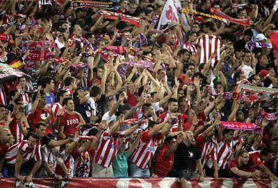 El Atlético-Rayo y Sevilla-Real Madrid declarados de alto riesgo