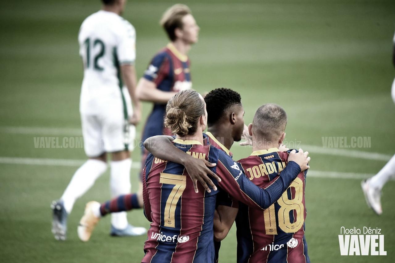 Resumen Barcelona vs Eibar (1-1)