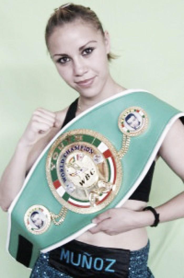 Zulina Muñoz expondrá título mundial por décima ocasión