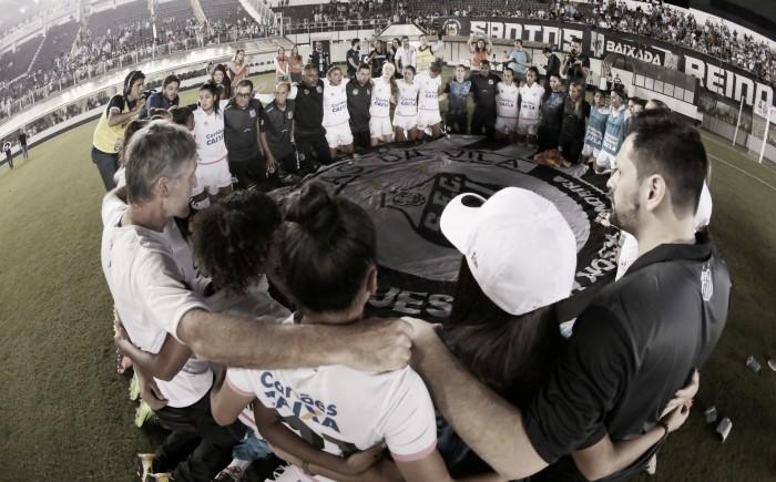 Equipe do Santos é campeão do Brasileiro Feminino A