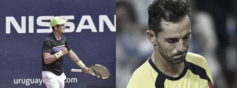 Nicolás Mejía, el tenista colombiano de élite con más triunfos en 2019; Santiago Giraldo, el que menos ganó