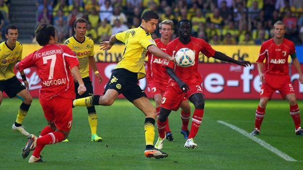 Live Borussia Dortmund-Augusburg in Bundesliga