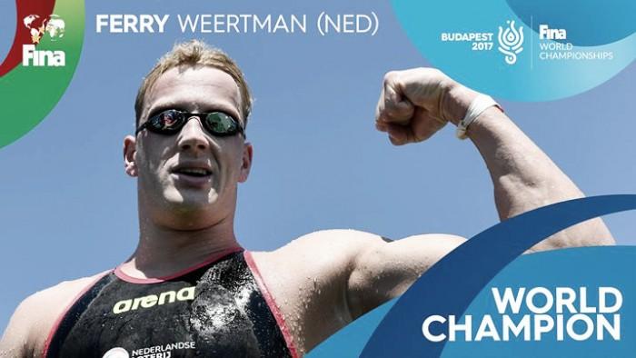 Ferry Weertman se alza con el oro en diez km tras un final de infarto
