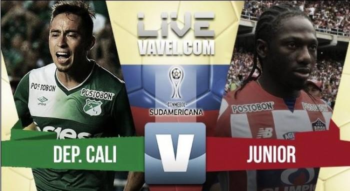 Cali y Junior empatan en la Sudamericana (1-1)