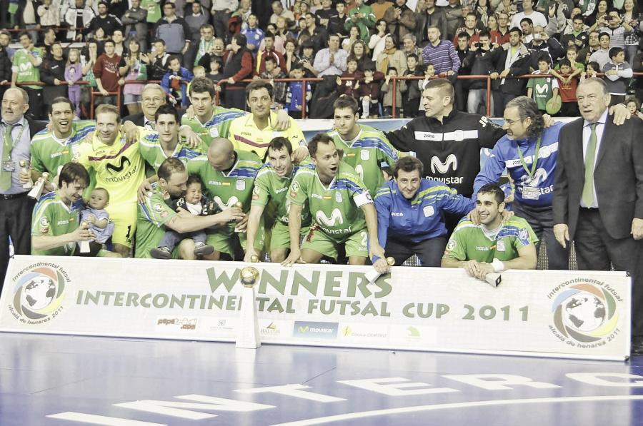 Serial Copas Intercontinentales de Inter Movistar - 2011: El pentacampeonato, en casa