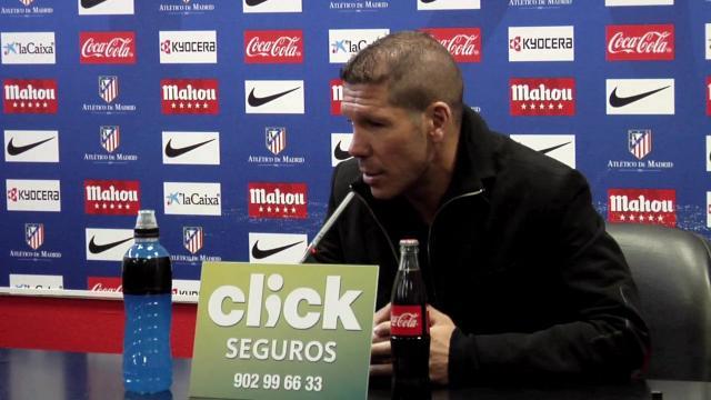 """Simeone: """"Los errores arbitrales son mínimos detalles"""""""
