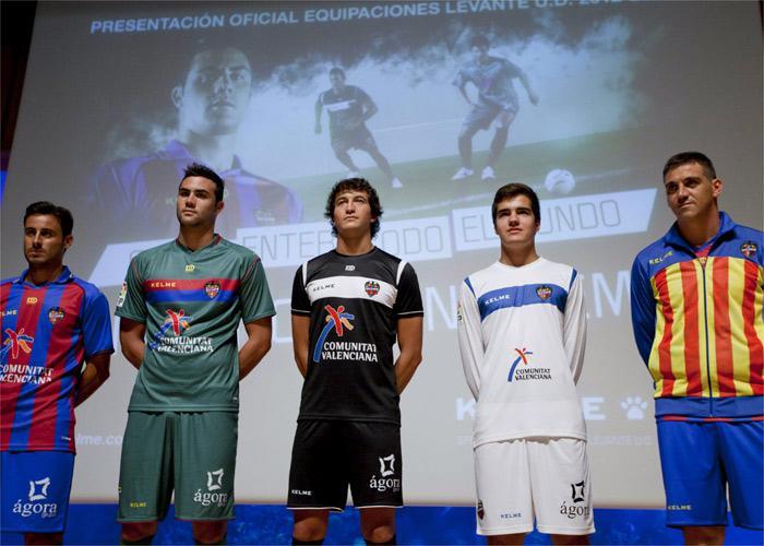 El Levante presenta sus nuevas equipaciones