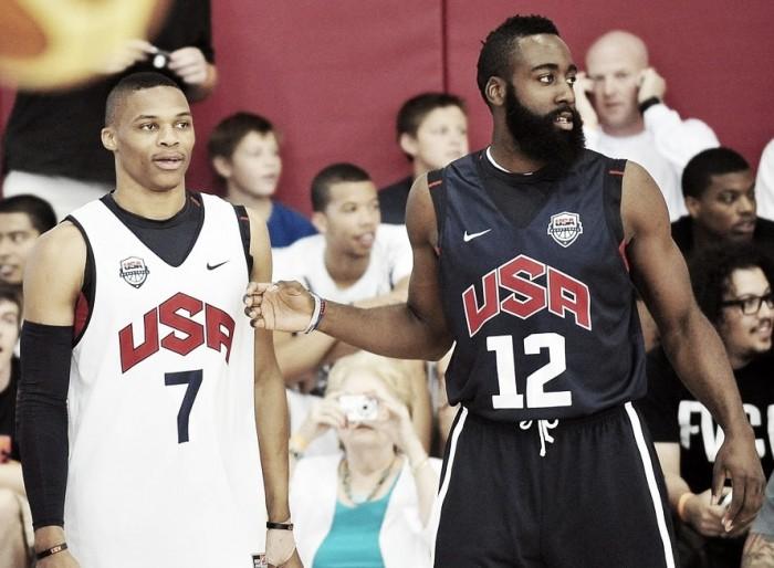 Westbrook e Harden anunciam que não participarão da Olimpíada no Rio e desfalcam os EUA