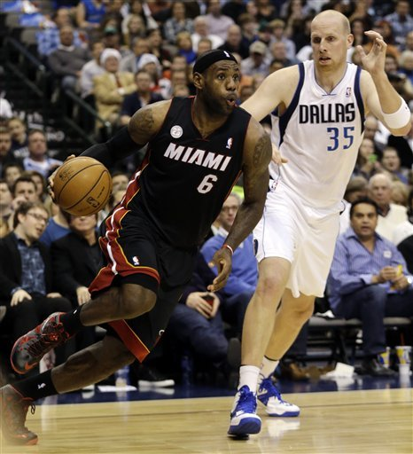Miami arrasa Dallas en un recital colectivo