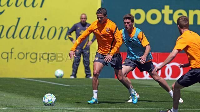 Afellay vuelve a una convocatoria del FC Barcelona