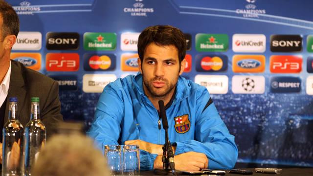 """Fàbregas: """"Ojalá podamos marcar goles tan importantes como el de Iniesta"""""""