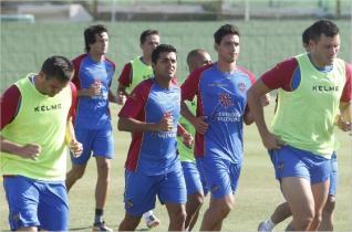 El Levante ya prepara el partido contra el Valladolid