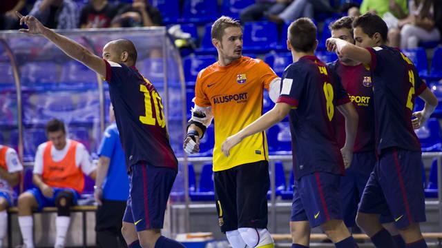 FC Barcelona Alusport - Burela FS: la experiencia contra la ilusión